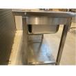 Stół nierdzewny ze zlewem 2-komorowym- 980806190/E1