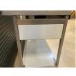 Stół nierdzewny ze zlewem 1-komorowym i półką - E2040/1400/600/E1