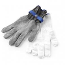 Rękawice antyprzecięciowe rozmiar M<br />model: 556665<br />producent: Hendi