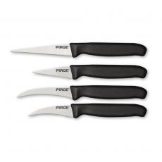 Zestaw 4 noży do carwingu<br />model: 841457<br />producent: Hendi