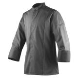 Bluza kucharska szara długi rękaw rozmiar S SIAKA ROBUR U-SI-GLS-S