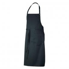 Fartuch kuchenny DAX czarny<br />model: U-DX-B<br />producent: Robur