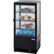 Witryna ekspozycyjna chłodnicza przeszklona<br />model: 852171<br />producent: Stalgast