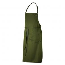 Fartuch kuchenny DAX oliwkowy<br />model: U-DX-O<br />producent: Robur