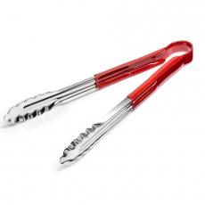 Szczypce do serwowania HACCP czerwone<br />model: FG11124<br />producent: Forgast
