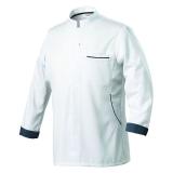 Bluza kucharska biała rozmiar M długi rękaw DUNES - ROBUR / model - U-DU-WLS-M