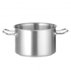 Garnek ze stali nierdzewnej średni poj. 4,1 l<br />model: 831236<br />producent: Chef de cuisine
