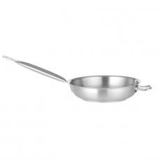 Patelnia ze stali nierdzewnej z rączką śr. 40 cm<br />model: 831571<br />producent: Chef de cuisine