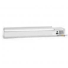 Nadstawa chłodnicza z pokrywą Forgast 9 GN 1/4<br />model: FG07309/E1<br />producent: Forgast