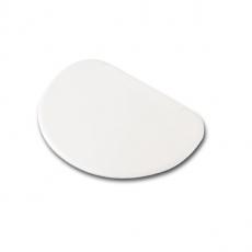 Skrobka do ciasta półokrągła 15,9x10,3 cm<br />model: FG11078<br />producent: Forgast