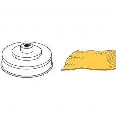 Końcówka Pasta Sfoglia MPF2,5/4<br />model: 229392<br />producent: Hendi