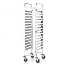 Wózek do transportu pojemników 15x GN 1/1 KitchenLine<br />model: 813270<br />producent: Hendi