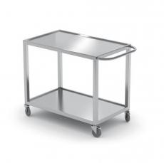 Wózek kelnerski 2-półkowy nierdzewny<br />model: 816691<br />producent: Hendi