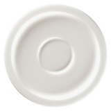 Spodek do espresso biały 13 cm STONE RAK PORCELAIN / model - R-EASA13-12
