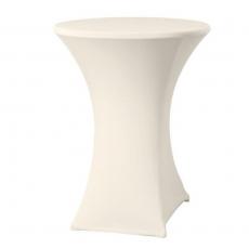 Pokrowiec na stół okrągły SYMPOSIUM biały<br />model: 813157<br />producent: Hendi