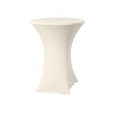 Pokrowiec na stół okrągły SYMPOSIUM kremowy<br />model: 813171<br />producent: Hendi