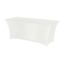 Obrus prostokątny SYMPOSIUM biały<br />model: 814390<br />producent: Hendi