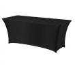 Pokrowiec na stół prostokątny SYMPOSIUM czarny 900678