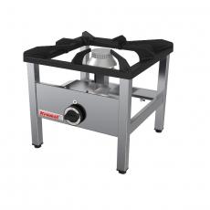 Taboret gastronomiczny gazowy 1-palnikowy<br />model: 000.TG-1s<br />producent: Kromet