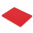 Deska do krojenia HACCP czerwona 45x30 cm FG12601