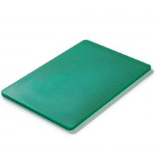 Deska do krojenia HACCP zielona 45x30 cm<br />model: FG12602<br />producent: Forgast