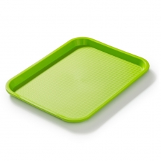 Taca fast food zielona wym. 35x25 cm<br />model: FG12502<br />producent: Forgast