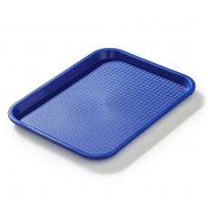 Taca fast food niebieska wym. 35x25 cm<br />model: FG12504<br />producent: Forgast