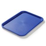 Taca fast food niebieska wym. 40x30 cm - FG12524