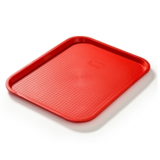 Taca fast food czerwona wym. 45x35 cm<br />model: FG12531<br />producent: Forgast