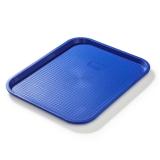 Taca fast food niebieska wym. 45x35 cm- FG12534