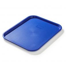 Taca fast food niebieska wym. 45x35 cm<br />model: FG12534<br />producent: Forgast