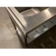 Stół nierdzewny ze zlewem 2-komorowym i szafką - E2255/1600/600P/E1