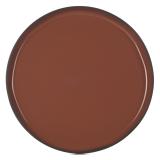 Talerz porcelanowy płytki Caractere cynamon śr. 21cm - RV-652800-4