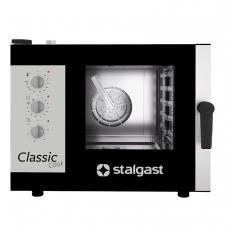 Piec konwekcyjno-parowy elektryczny ClassicCook 5 GN 1/1 manualny<br />model: 9100043<br />producent: Stalgast