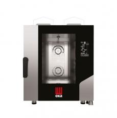 Piec konwekcyjno-parowy gazowy Millenial Black Mask Gastro 7xGN 1/1<br />model: MKF711GBM<br />producent: Hendi