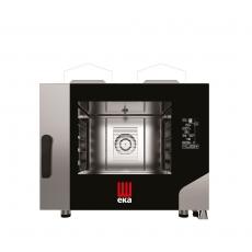 Piec konwekcyjno-parowy gazowy Millenial Black Mask Bakery 4x600x400<br />model: MKF464GBM<br />producent: Hendi