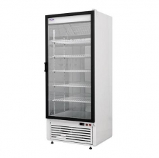 Szafa chłodnicza przeszklona przyścienna<br />model: SCh-S 625 NW/W<br />producent: Rapa
