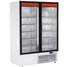 Szafa chłodnicza przeszklona przyścienna<br />model: SCh-S 1200<br />producent: Rapa