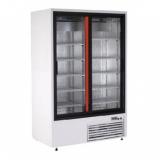 Szafa chłodnicza 2-drzwiowa przeszklona przyścienna SCh-SR 1600