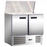 Lada chłodnicza sałatkowa 2-drzwiowa EKO z pokrywą uchylną 842129