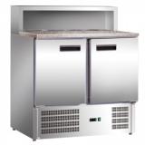 Stół chłodniczy do pizzy 2-drzwiowy EKO 843029