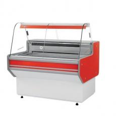 Lada chłodnicza z szybą giętą<br />model: L-B1/137/90<br />producent: Rapa