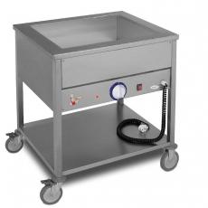 Bemar elektryczny jezdny 2xGN1/1 (1-komorowy) | EGAZ BE-2J<br />model: BE-2 J<br />producent: Egaz