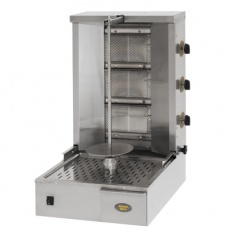 Gyros (kebab) gazowy - do 25kg<br />model: 777374<br />producent: Roller Grill