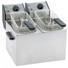 Frytownica elektryczna 2-komorowa - 2x5 l<br />model: 777323<br />producent: Roller Grill