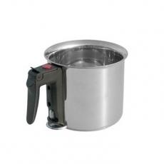Garnek ze stali nierdzewnej do gotowania mleka - poj. 1.5 l<br />model: D-3437-16<br />producent: Tom-Gast