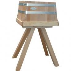 Kloc masarski tradycyjny na drewnianej podstawie<br />model: T-KLD4435<br />producent: Tom-Gast