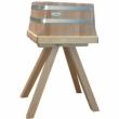 Kloc masarski tradycyjny na drewnianej podstawie KLD-4435