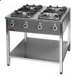 Kuchnia gastronomiczna gazowa 4-palnikowa 000.KG-4L