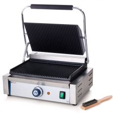 Grill kontaktowy Panini<br />model: 263655<br />producent: Hendi